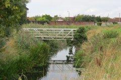 E. Lansdown Garden Footbridge to Ebdon Bridge