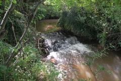 24. Weir downstream from Binham Farm Accommodation Bridge