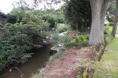 49. Flowing through Pill Copse Caravan Park