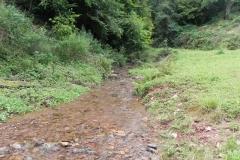 40. Upstream from ROW bridge 4641